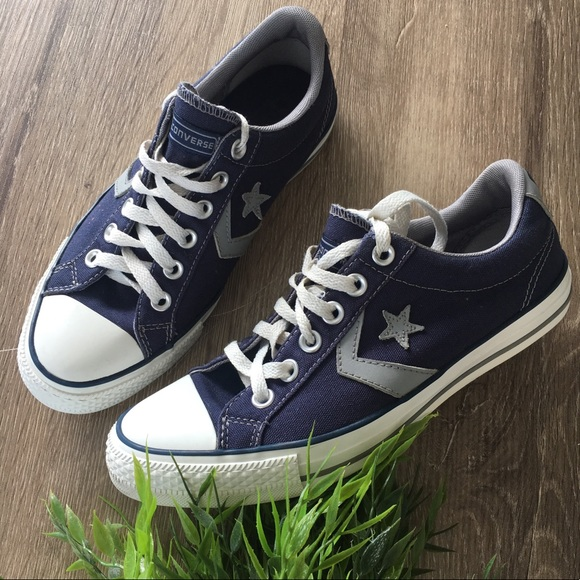 79119db964f4 Converse Shoes - Converse Cons One star low trainers navy unisex